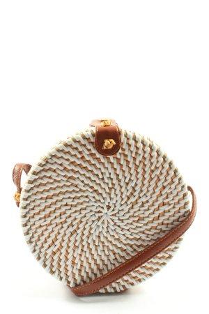 Asos Torebka mini biały-brązowy W stylu casual