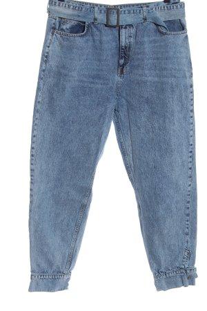 Asos Mom-Jeans niebieski W stylu casual