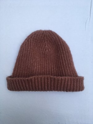 Asos Knitted Hat rose-gold-coloured
