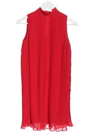 Asos Robe dos-nu rouge motif rayé élégant