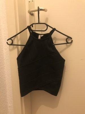 Asos Petite Basic Top black spandex