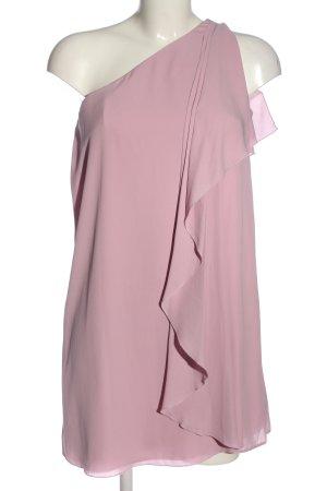 Asos One-Shoulder-Kleid pink Elegant