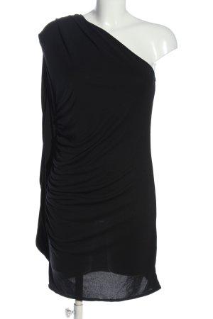 Asos One-Shoulder-Kleid schwarz extravaganter Stil