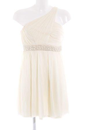 Asos One-Shoulder-Kleid creme Elegant