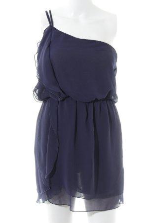 Asos One-Shoulder-Kleid dunkelblau schlichter Stil