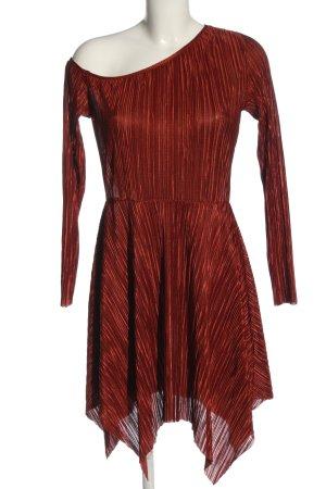 Asos Sukienka na jedno ramię jasny pomarańczowy Elegancki