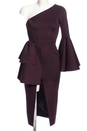 Asos One-Shoulder-Kleid lila Elegant