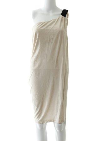 Asos One-Shoulder-Kleid rosé-schwarz Elegant