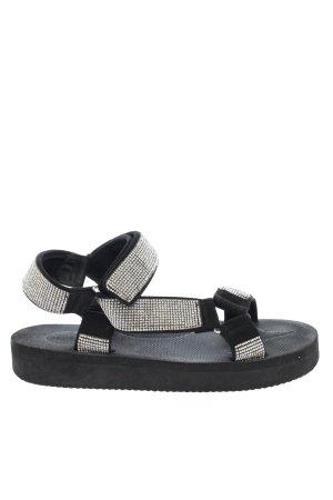 Asos Outdoor sandalen zwart casual uitstraling