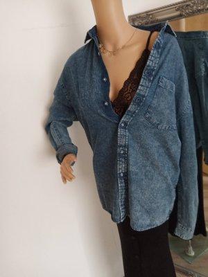 asos Over Size Jeans Hemd Bluse XXS/XS neu