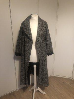 Asos Oversized jas zwart-grijs
