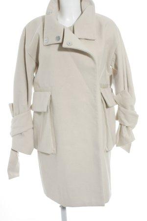 Asos Oversized Mantel creme Casual-Look