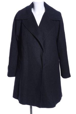 Asos Oversized jas zwart Gemengd weefsel