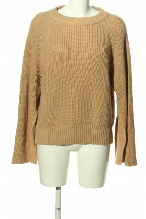 Asos Oversized Sweater brown casual look