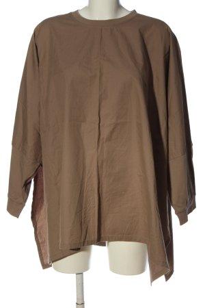 Asos Oversized Shirt braun Casual-Look