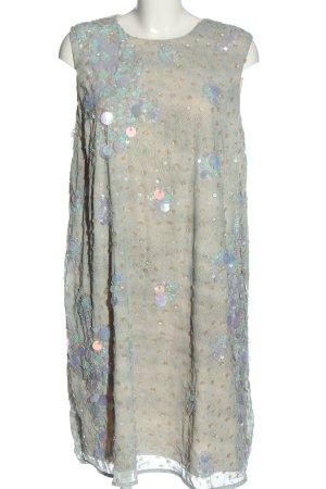 Asos Robe à paillettes gris clair style décontracté