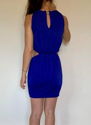 Asos Cut Out Dress dark violet-blue