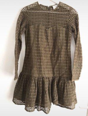 Asos Petite Mini-jurk khaki-olijfgroen