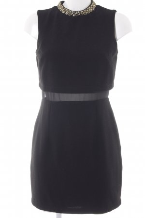 Asos Petite Cocktail Dress black-gold-colored party style