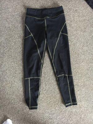Asos Petite Pantalon de sport noir-vert
