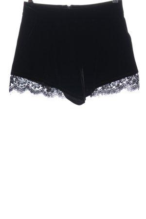 Asos Petite Krótkie szorty czarny W stylu casual