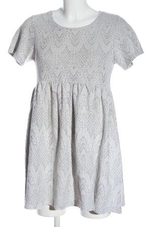 Asos Petite Sukienka z krótkim rękawem jasnoszary W stylu casual