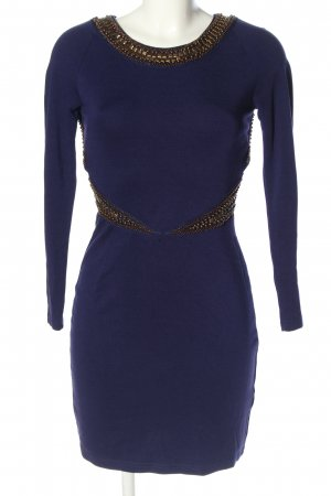 Asos Petite Longsleeve Dress blue elegant