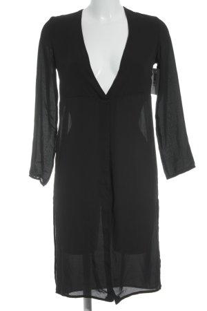 Asos Petite Long-Bluse schwarz Elegant
