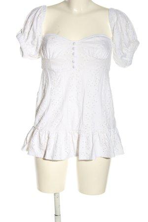 Asos Petite Długa koszulka biały W stylu casual