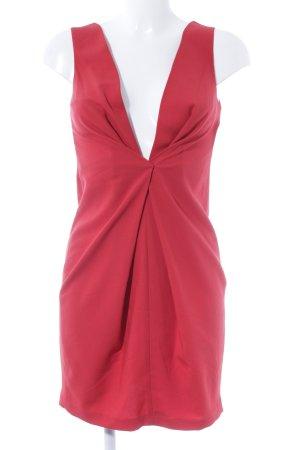Asos Petite Robe mi-longue rouge élégant