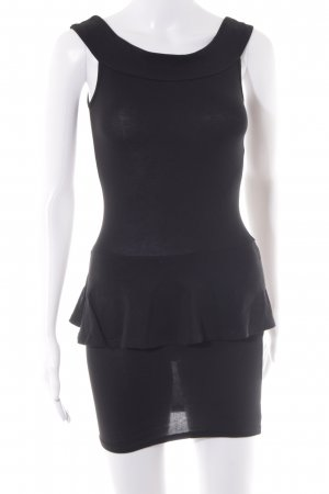 Asos Petite Robe courte noir style festif