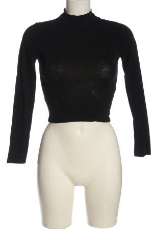 Asos Petite Turtleneck Shirt black casual look