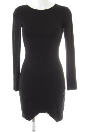 Asos Petite T-shirt jurk zwart casual uitstraling