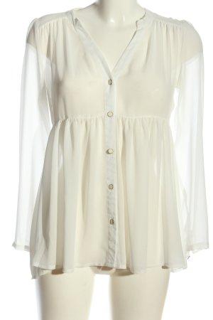 Asos Petite Tunique-blouse blanc style d'affaires