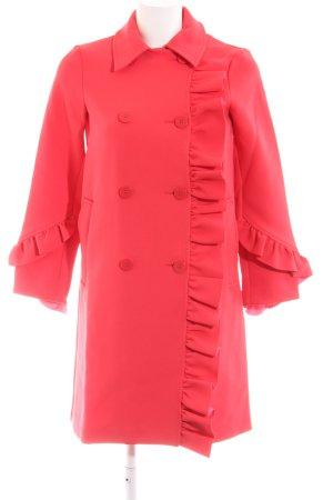 Asos Petite Between-Seasons-Coat red business style