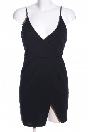 Asos Petite Wickelkleid schwarz Elegant