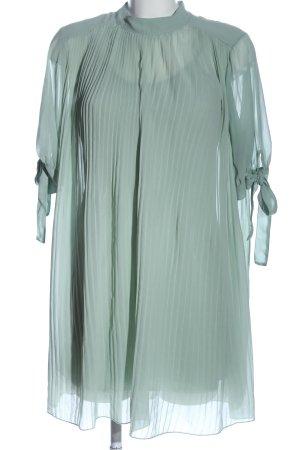 Asos Sukienka z halką turkusowy Elegancki