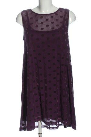 Asos Robe avec jupon violet imprimé allover style décontracté