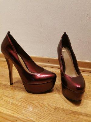 Asos Shoes Hoge hakken bordeaux