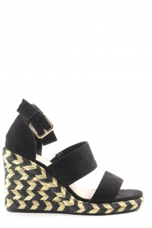 Asos Sandalo con plateau nero stile casual