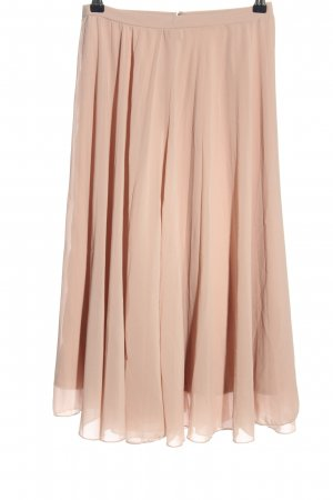 Asos Pleated Skirt pink casual look