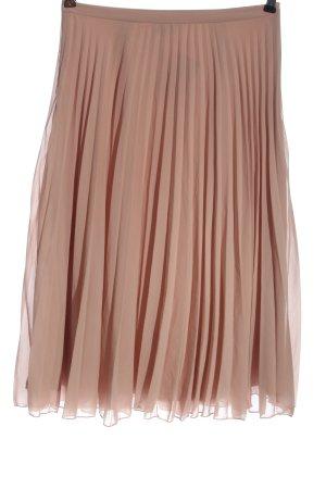 Asos Pleated Skirt nude elegant