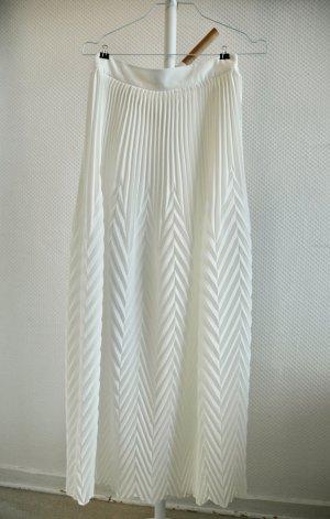 Asos Plaid Skirt white polyester
