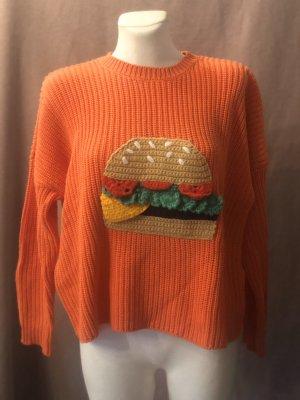 ASOS Pullover Burger orange 38