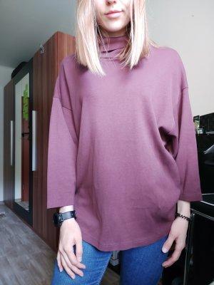Asos Turtleneck Sweater bordeaux-brown red