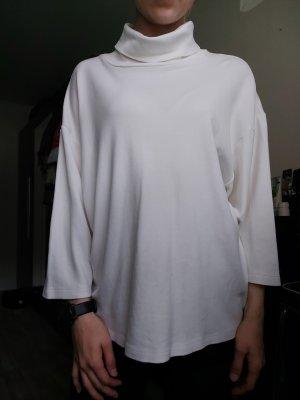 Asos Sweter z golfem w kolorze białej wełny