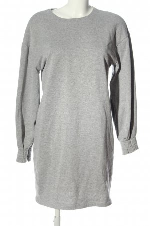 Asos Sweater Dress light grey flecked casual look