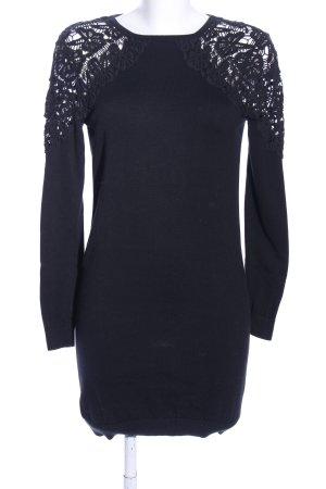 Asos Robe pull noir motif de fleur style d'affaires