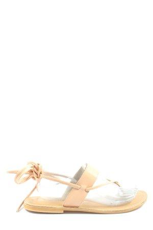 Asos Sandalen met bandjes nude casual uitstraling