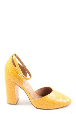 Asos Riemchen-Sandaletten blassgelb Casual-Look